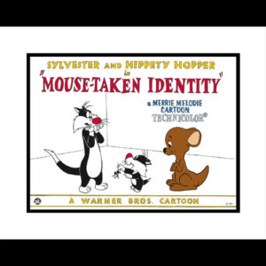 Mouse Taken Identity 16x20 Lobby Card Giclee-0