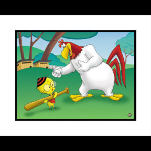 Let's Play Ball 16x20 Giclee-0