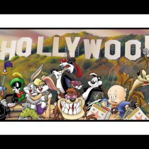 Lithograph Toon Go Hollywood - unframed-0