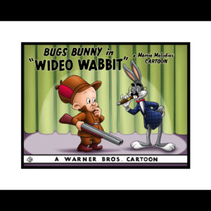 Warner Bros. Wideo Wabbit Giclee Lobby Card