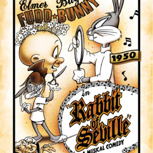 Warner Bros. Rabbit of Seville Giclee