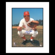 Johnny Bench Catching