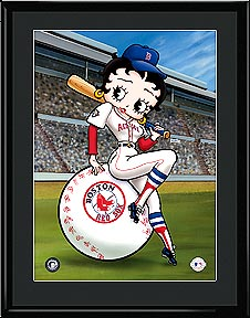 Betty On Deck - Boston Redsox