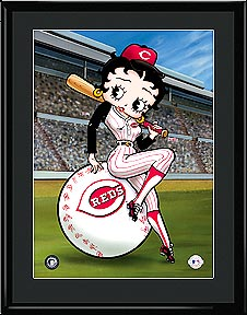 Betty on Deck - Cincinnati Reds