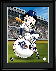 Betty on Deck - Detroit Tigers