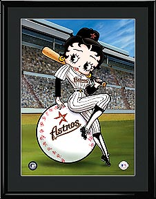 Betty on Deck - Houston Astros