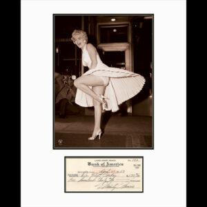 Marilyn Monroe Skirt with Check