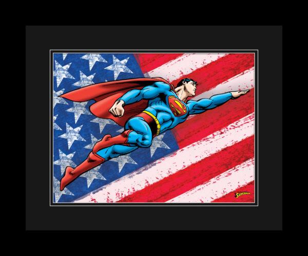 dc-superman-patriotic-FRAMED