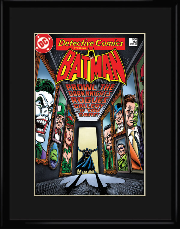 dc-Batman-RoguesGallery-11×14-framed