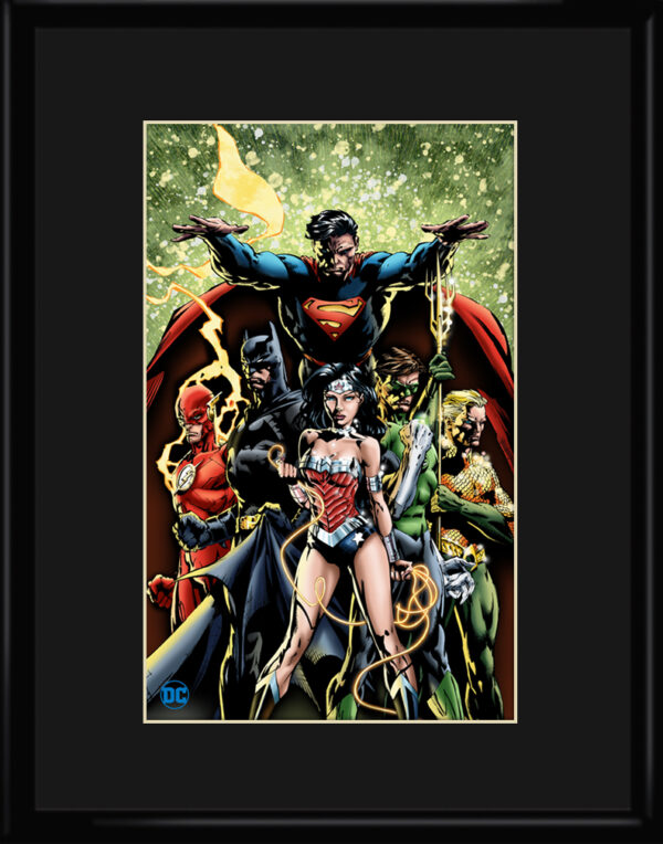 dc-JusticeLeague1-11×14-framed