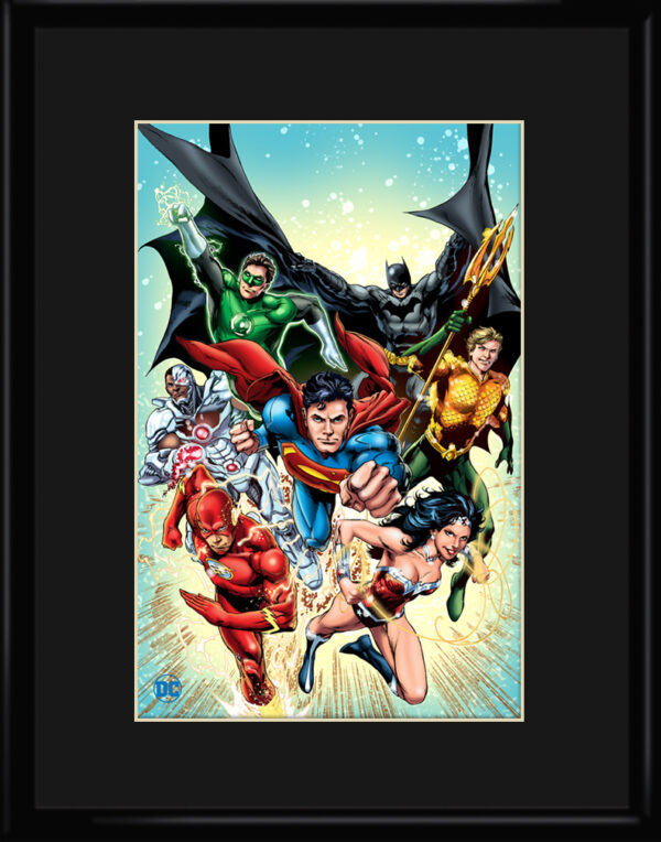 dc-JusticeLeague2-11×14-framed