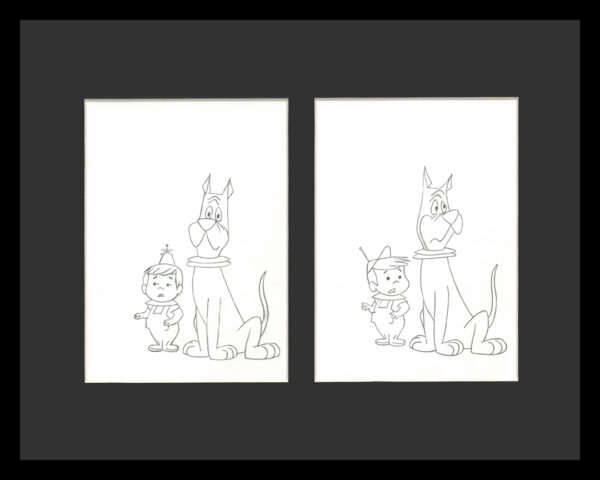 Jetsons-DoulbeArp-Drawing-11×14-framed-Website