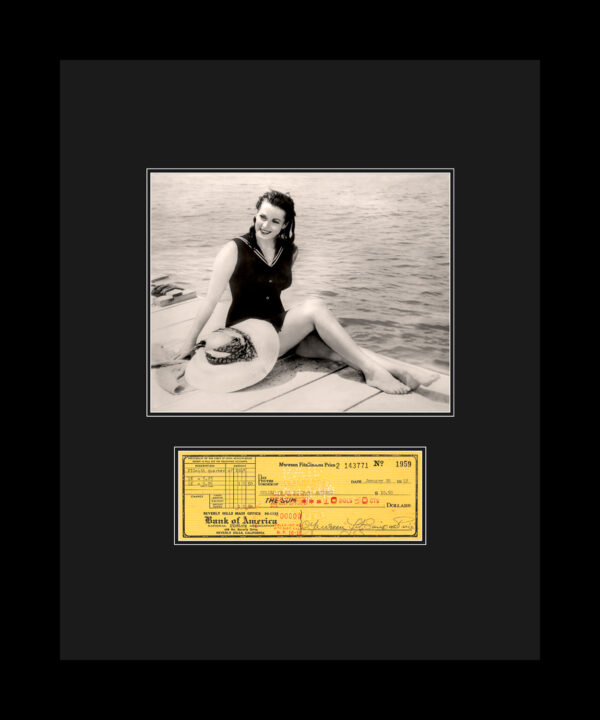 Maureen-check-dock-16×20-updatedmat-FRAMED