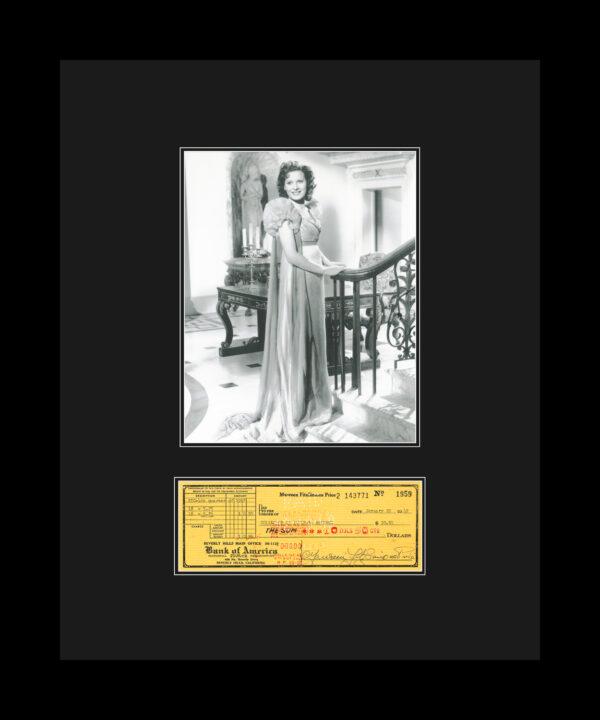 Maureen-check-dress-16×20-updatedmat-FRAMED
