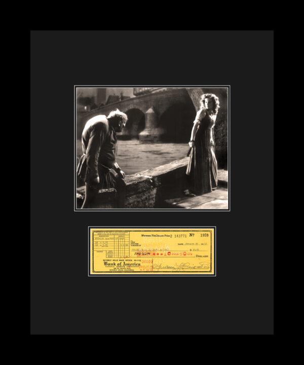 Maureen-check-hunchback-16×20-updatedmat-FRAMED